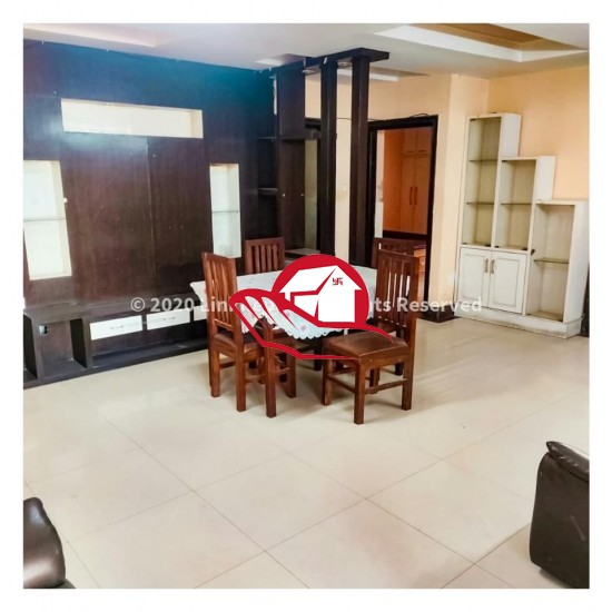 FULL-FURNISHED 3BHK APARTMENT ON RENT