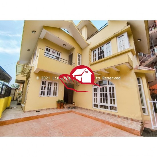 FULL- FURNISHED 4BHK BUNGALOW ON RENT